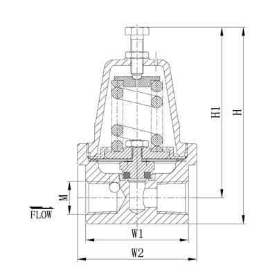 低温降压调压阀 DYJ-15